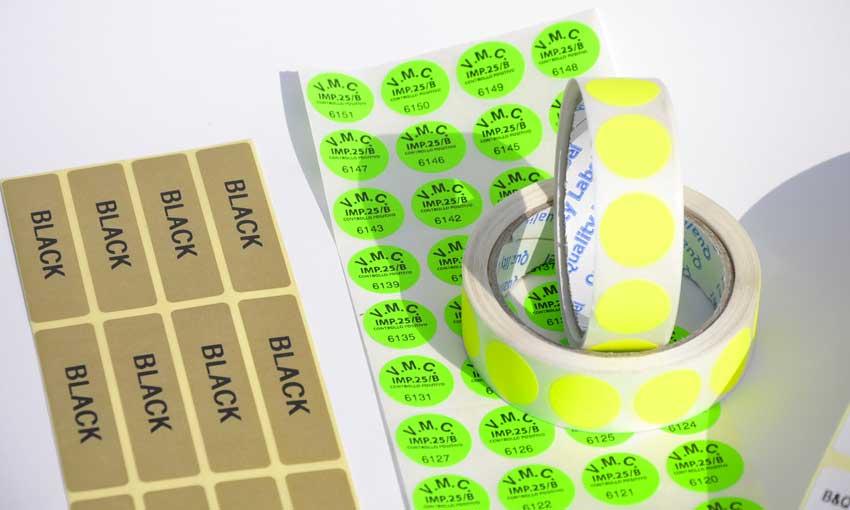 Stampa etichette in Brianza